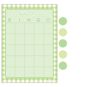 Baby Shower Bingo For 10 Players (Green Dots) Pk 1