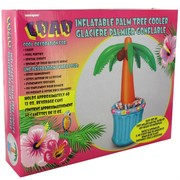 Inflatable Palm Tree Cooler Holds 60 Cans Pk1