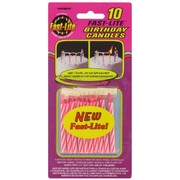 Candles Fast-Lite Pink Pk10