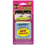 Candles Fast-Lite Blue Pk10