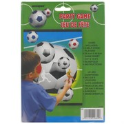 Party Game - Pin The Soccer Ball Pk1