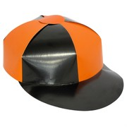 Cardboard Jockey Hat - Assorted Colours Pk 1
