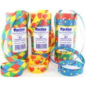 Paper Streamers Assorted Patterns Pk9