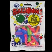Balloons Waterbombs with Pump Pk35