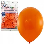 Balloons Standard 25cm Orange Pk15