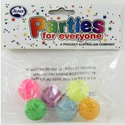Party Favours - Hi Bounce Balls Pk 8