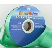 Emerald Green Tear Ribbon (32mm x 91m) Pk 1