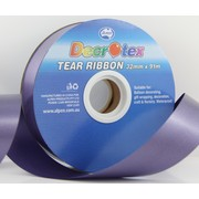 Navy Blue Tear Ribbon (32mm x 91m) Pk 1