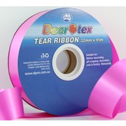 Fuchsia Tear Ribbon (32mm x 91m) Pk 1