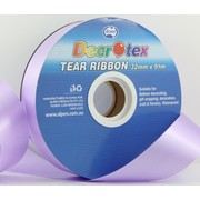 Lavender Tear Ribbon (32mm x 91m) Pk 1