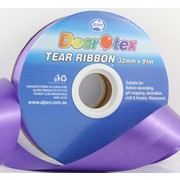 Purple Tear Ribbon (32mm x 91m) Pk 1