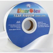 White Tear Ribbon (32mm x 91m) Pk 1