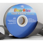 Black Tear Ribbon (32mm x 91m) Pk 1
