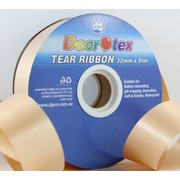 Gold Tear Ribbon (32mm x 91m) Pk 1
