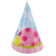 Ladybug Party Hats - Li'l Lady Pk 8