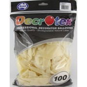 Crystal (See-Through) Clear Latex Balloons (12in - 30cm) Pk 100