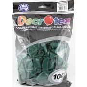 Metallic Forest Green Latex Balloons (12in - 30cm) Pk 100