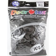 Metallic Chocolate Latex Balloons (12in - 30cm) Pk 100