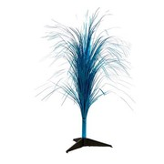 Holographic Peacock Blue Fountain Centrepiece (32in./81cm) Pk 1