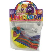 Balloons Link-O-Loon Metallic Assorted Pk16