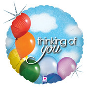 Thinking of You 18in Foil Balloon Pk 1