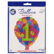 Balloon Foil 18in Balloon Shape 1 Pk1