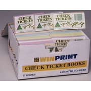 Tickets Check Pk 7200 (72 Books of 100 Tickets)