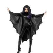 Adult Vampire Bat Wings Halloween Costume (One Size Fits Most) Pk 1