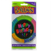 Balloon Foil 18in Infinite Birthday Happy Birthday Pk1