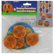 Foil Hanging Decoration Halloween 45.7cm Pk4