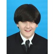 Dark Brown Deluxe Beatles Wig Pk 1