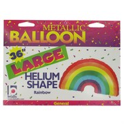 Balloon Supershape Foil Rainbow Pk1
