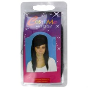 Party Wig - Priscilla (Black) Pk1