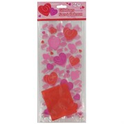 Cello Bags Hearts-A-Whirl Pk20 Me