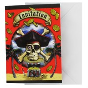 Invitations Pirate Bounty Pk8