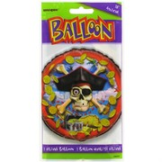 Balloon Foil 18in Pirate Bounty Pk1
