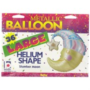 Baby Shower Foil Supershape Balloon - 36in Slumber Moon Pk1
