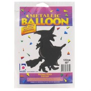 Balloon Supershape Foil Wicked Witch Black Pk1