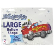 Balloon  Foil Supershape Happy Birthday Car Pk1