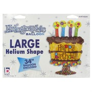 Balloon Foil Supershape Chocolate Birthday Cake Pk1