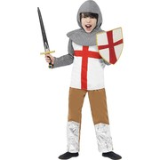 Horrible Histories Knight Child Costume (Medium, 7-9 Years) Pk 1 (Sword & Shield Not Included)