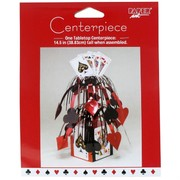 Casino Party Cascade Centrepiece - 14.5in Card Night Pk1