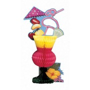 Tropical Drink Honeycomb Centrepiece Pk 1