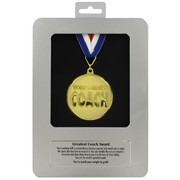 Award Medal - World's Greatest Coach Pk1