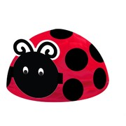 Ladybug Party Decoration - Honeycomb Centrepiece Ladybug Fancy Pk 1