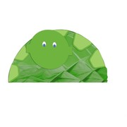 Turtle Party Honeycomb Centrepiece - Mr Turtle Pk1
