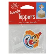 Decoration Cupcake Toppers Big Top Birthday Pk12