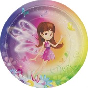 Fairy Whimsy Plates - Small (7in) Pk 8