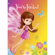 Fairy Whimsy Invitations Pk 8
