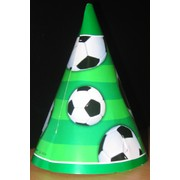 Soccer Party Hats - Soccer Ball Pk8